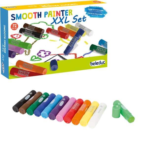 Set of 72 Smooth Painter